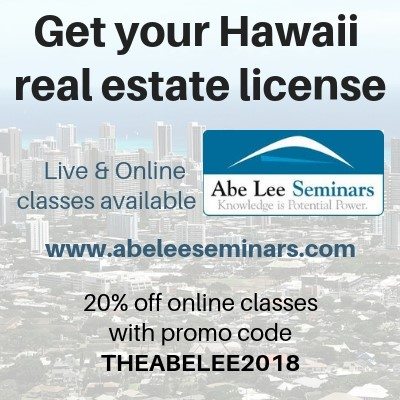 You Can Work In Hawaii Real Estate Part Time Abe Lee Realty Hawaii